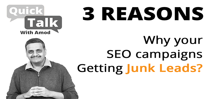 Three Reasons Why SEO Campaigns Bring Irrelevant Leads For Your Business