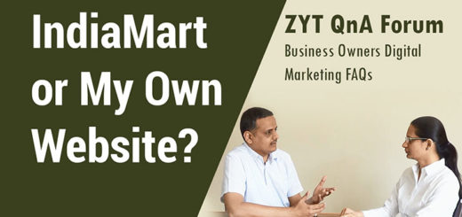 Already Subscribed With IndiaMart and TradeIndia. Why Invest In Business Website?