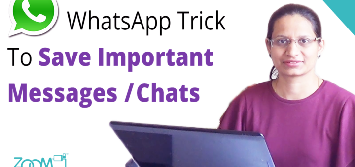 How To Save Important Messages, Chats on WhatsApp?