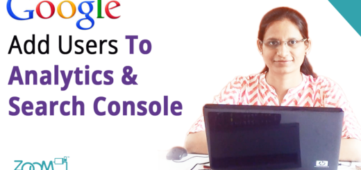 How To Add New User To Google Analytics and Webmaster Console Account?