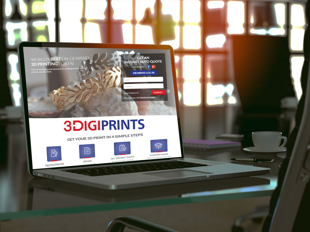 Printing Business Responsive Website Design
