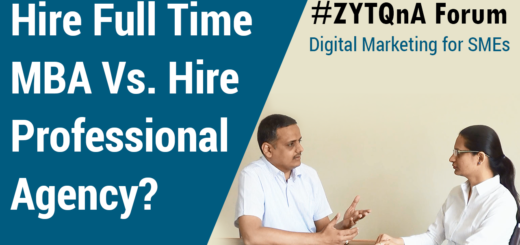 Digital Marketing For SMEs – Hire Full Time MBA Vs. Hiring Professional Agency?