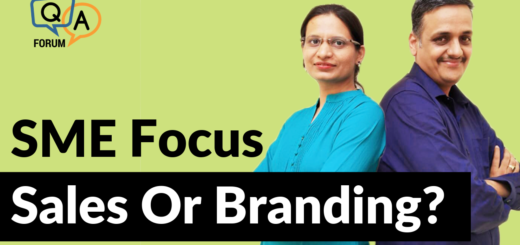 As A Small Business, Should I Focus On Sales Or Branding?